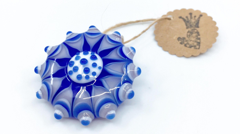 Kunsthandwerk Anhänger blau