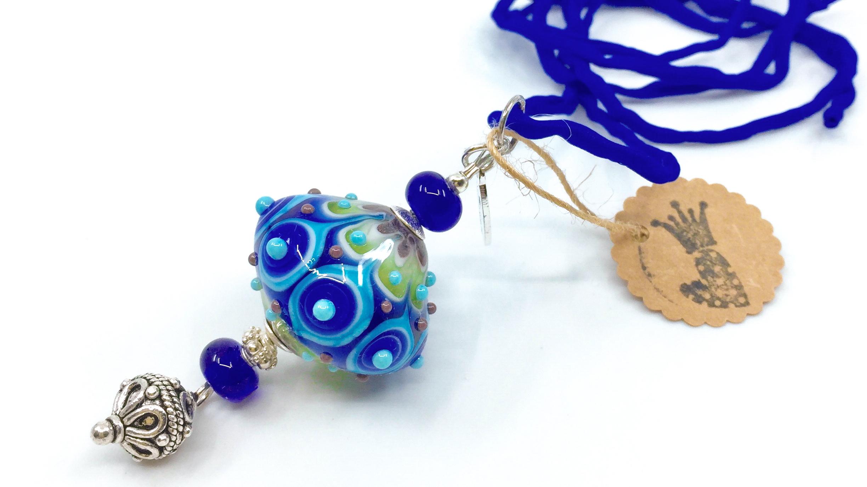 Kunsthandwerk Oriental blau