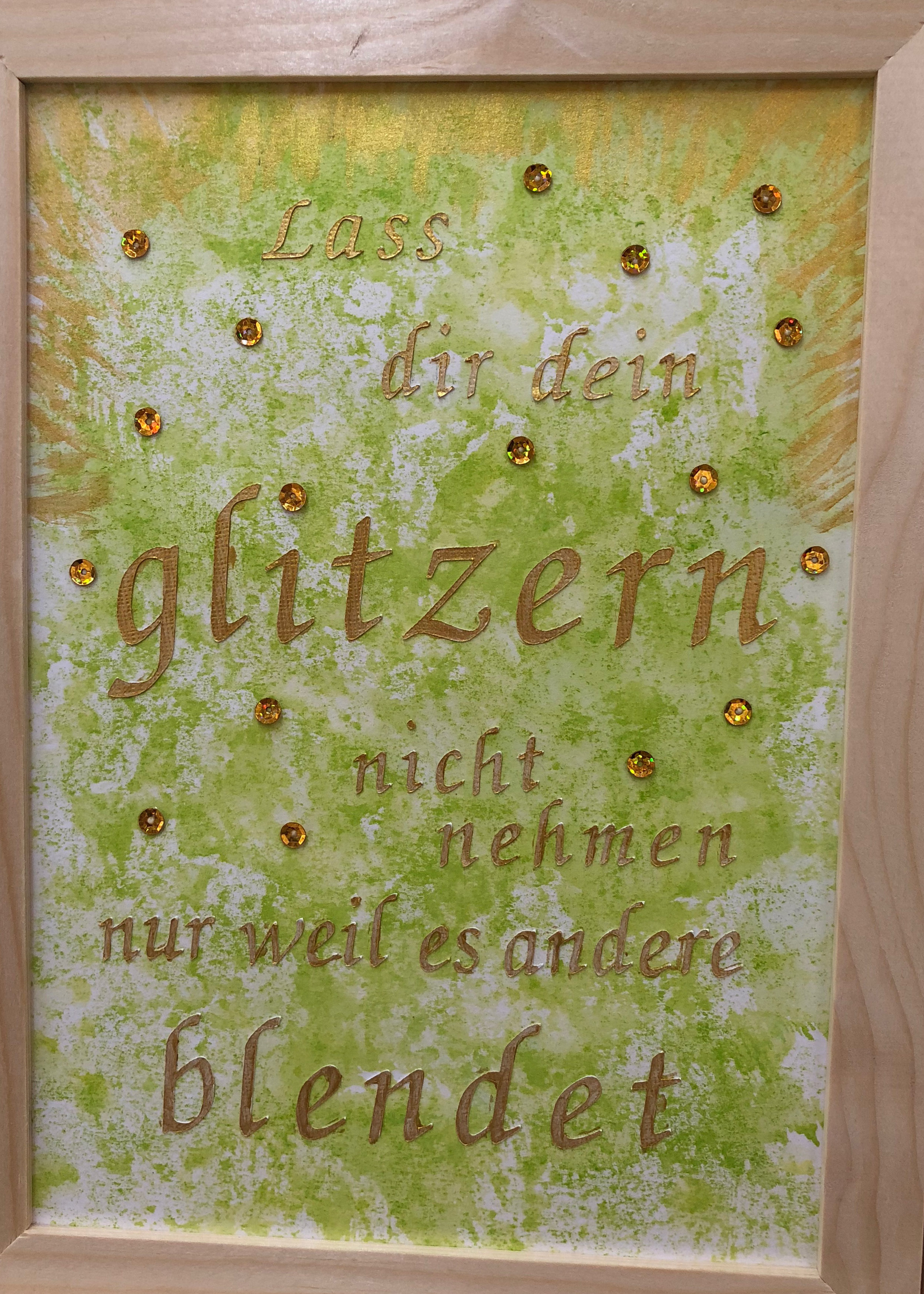 Mixed Media Bible Art Journaling glitzern Himmelsperlen