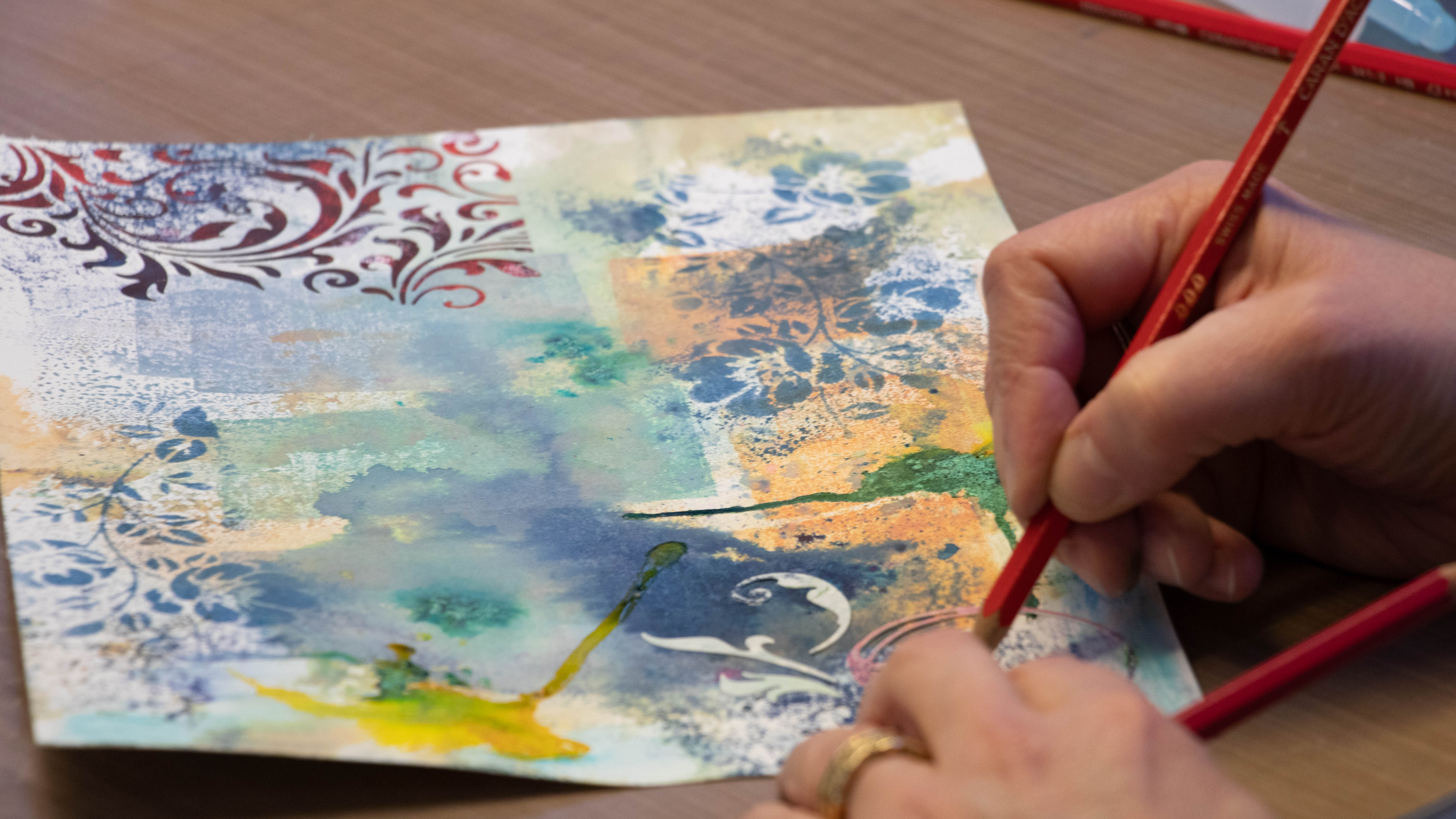 Bibel Art Journaling Atelier Hottinger Geduld