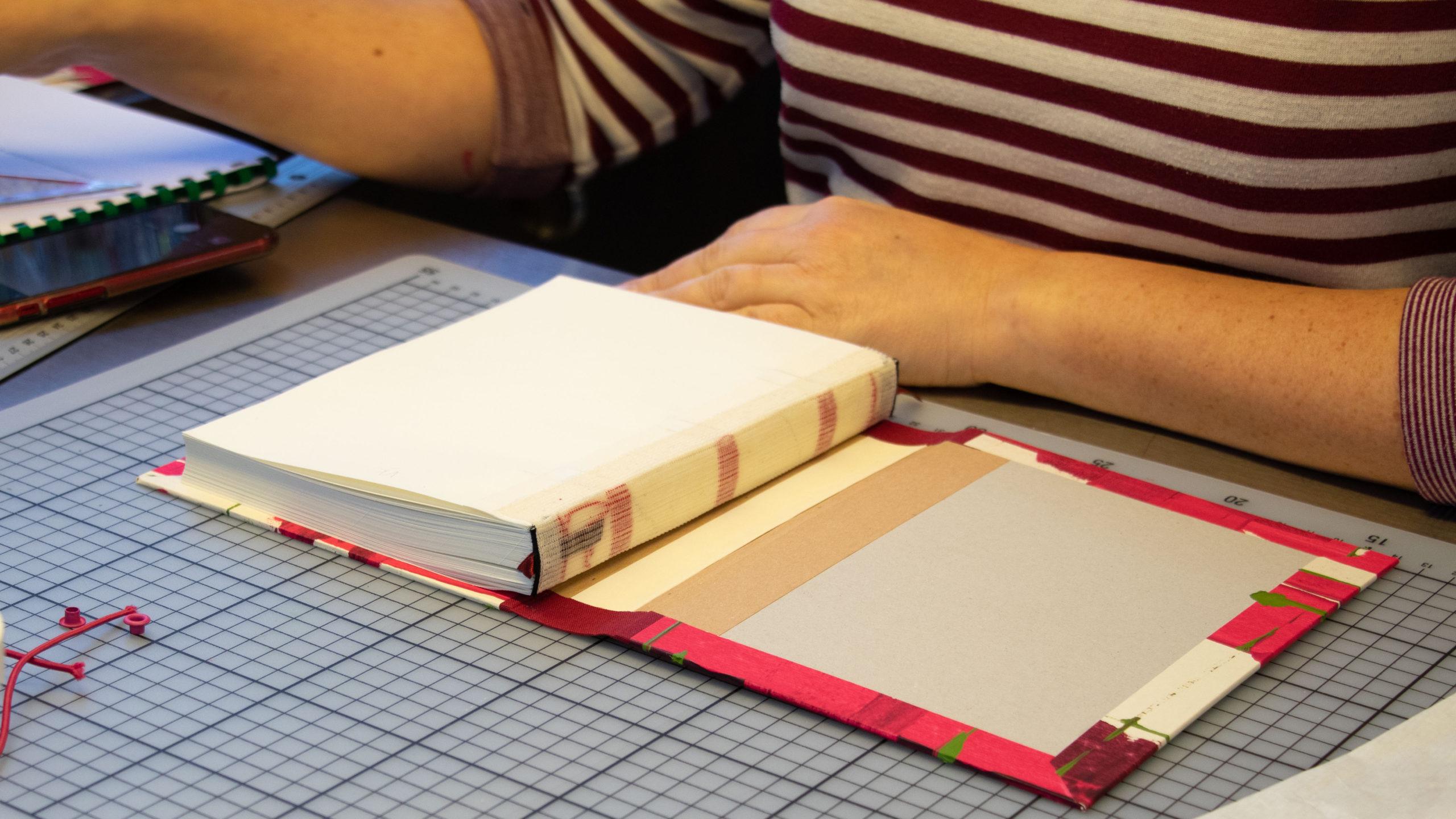Himmelsperlen Buchbinden Workshop
